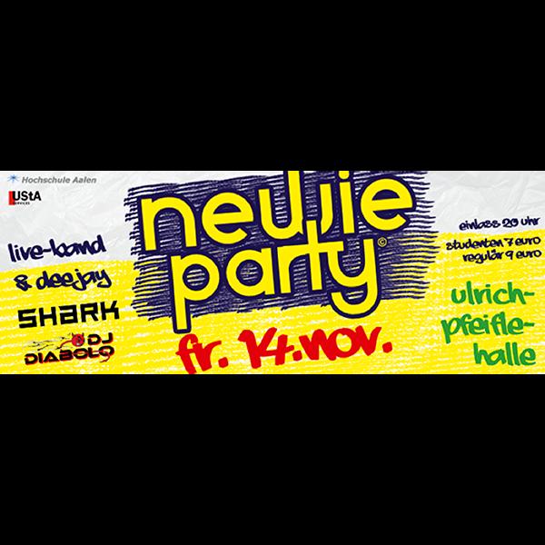 Newie Party – Ulrich Pfeifle Halle – SHARK 14.11.2014