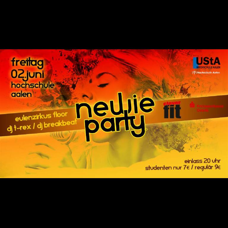 Newie Party – Hochschule Aalen 02.06.2017