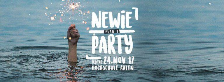 Newie Party – Plan B – Aula-Hörsaalgebäude 24.11.2017