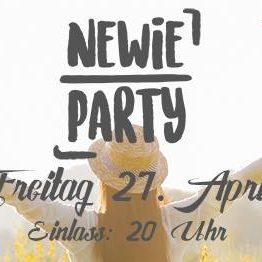 Newie-Party / Hochschule Aalen / 27.04.2018